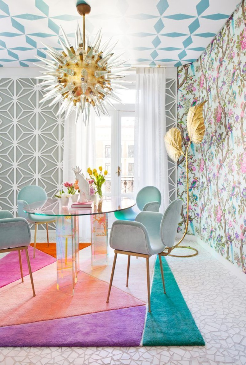 Pastel is The New Neutral dining design Pastel is The New Neutral – A Lyrical Dining Design Trend Pastel is The New Neutral     A Lyrical Design Trend Miriam Al  a