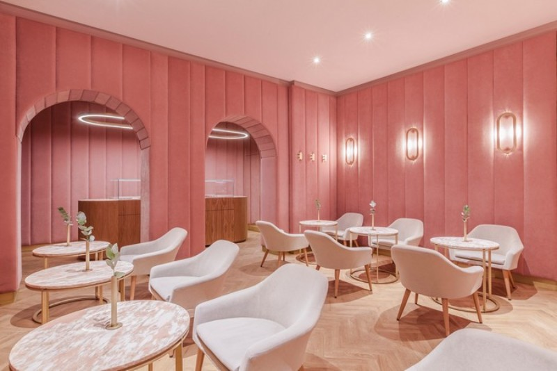 Pastel is The New Neutral dining design Pastel is The New Neutral – A Lyrical Dining Design Trend Pastel is The New Neutral     A Lyrical Design Trend Nanan Patisserie