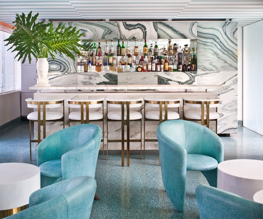 8 Interior Design Projects By Kelly Wearstler: Restaurant Design Projects By Kelly Wearstler