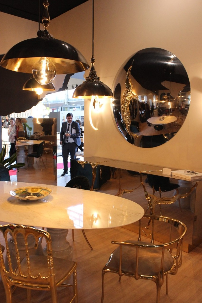 marble table Pietra: A Statement Marble Table for Your Dining Room The Best Modern Dining Tables at Maison et Objet 3 texto