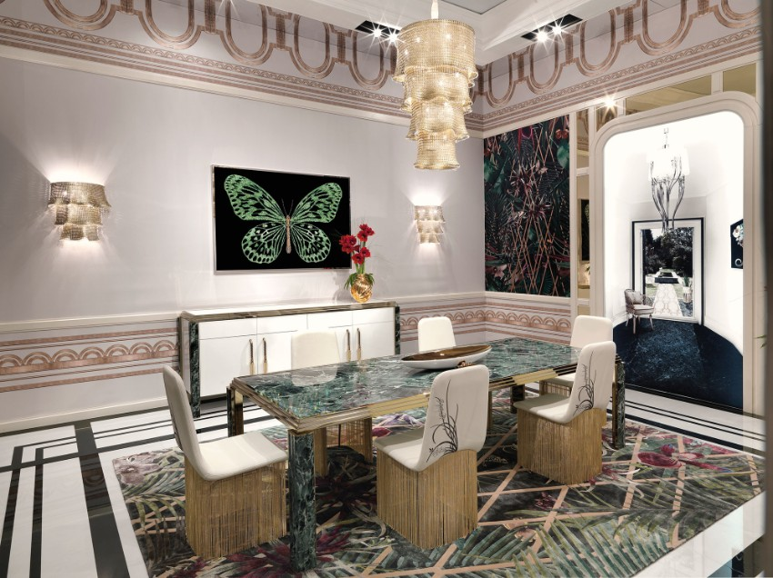 The Best of Italian  Dining room design The Best of Italian Dining Room Design The Best of Italian Dining Room Design 8