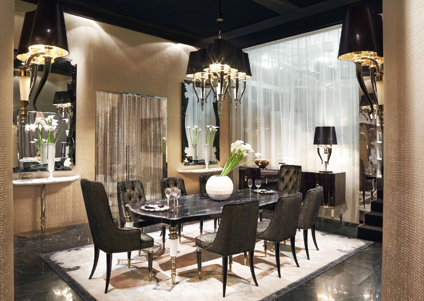 The Best of Italian  Dining room design The Best of Italian Dining Room Design The Best of Italian Dining Room Design 9