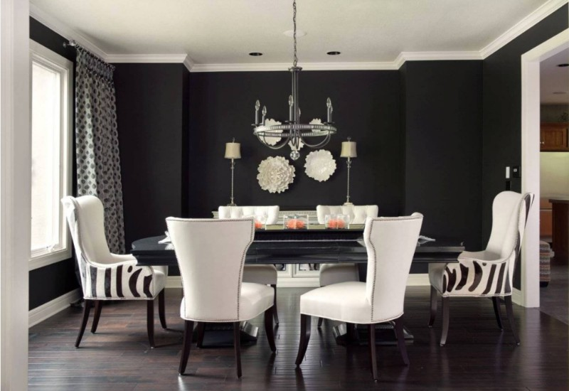 Take a Look At Some Black Dining Room Ideas