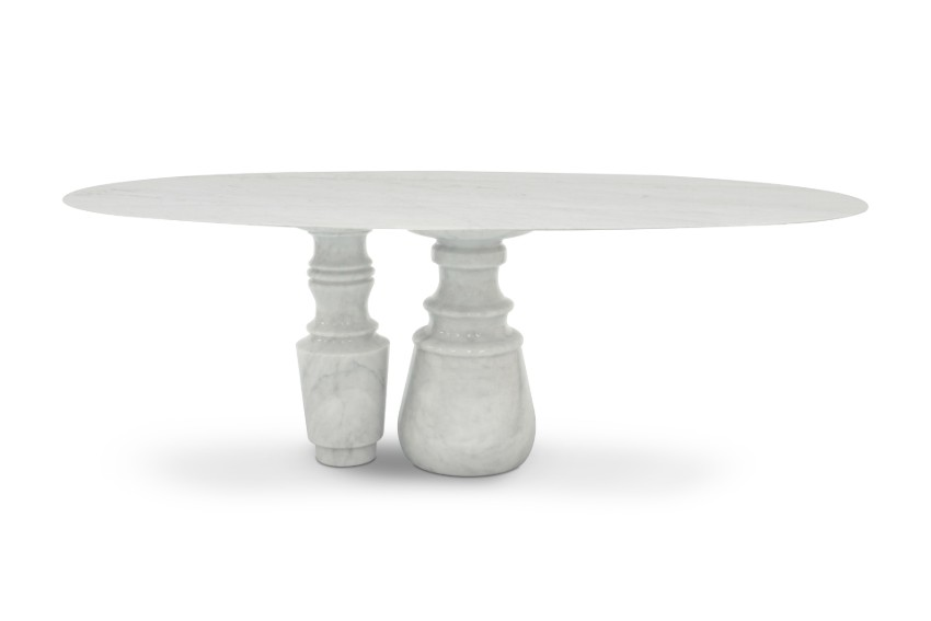Pietra: A Statement Marble Table for Your Dining Room marble table Pietra: A Statement Marble Table for Your Dining Room pietra oval 02 HR texto