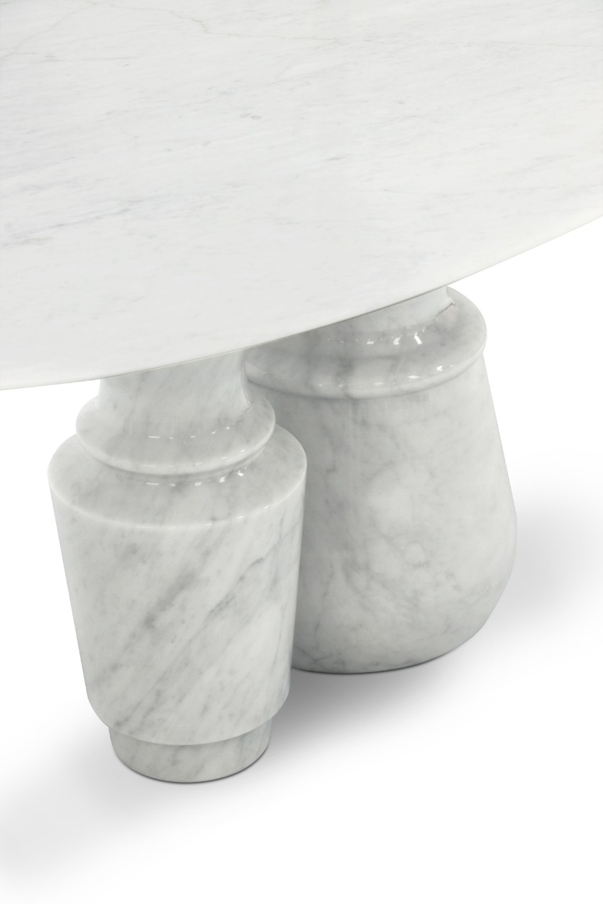 Pietra: A Statement Marble Table for Your Dining Room