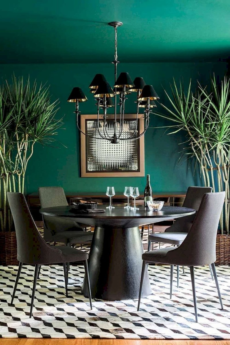 dining room walls green dining room walls Original Ideas for Your Dining Room Walls 0168627964e3dc593447bd27a2cbefb9