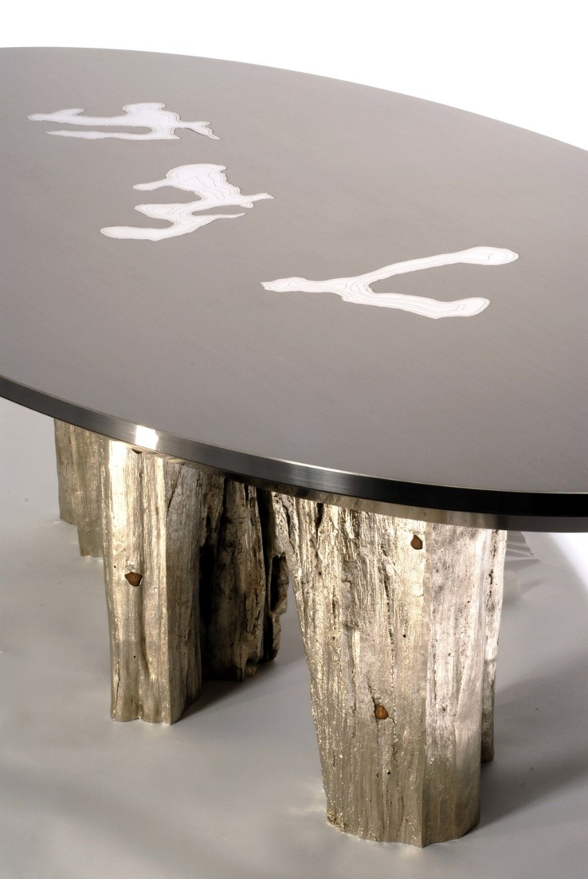 Luxury Dining Tables By Maria Pergay