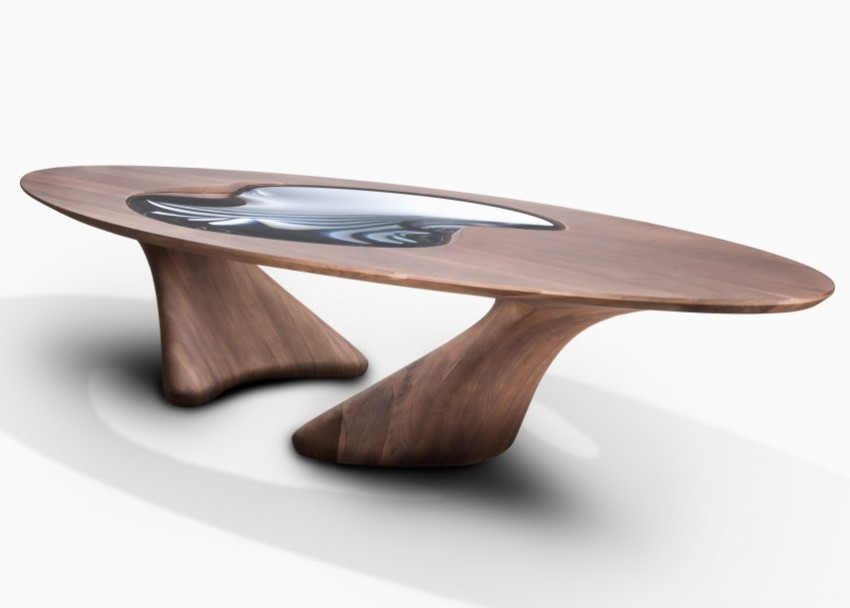 Luxury Dining Tables by Zaha Hadid