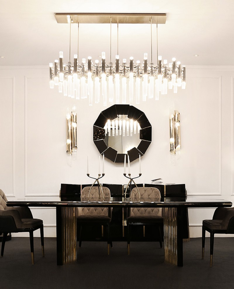 gold dining tables gold dining tables Gold Dining Tables With a Unique Design by Luxury Brands Luxxu dining