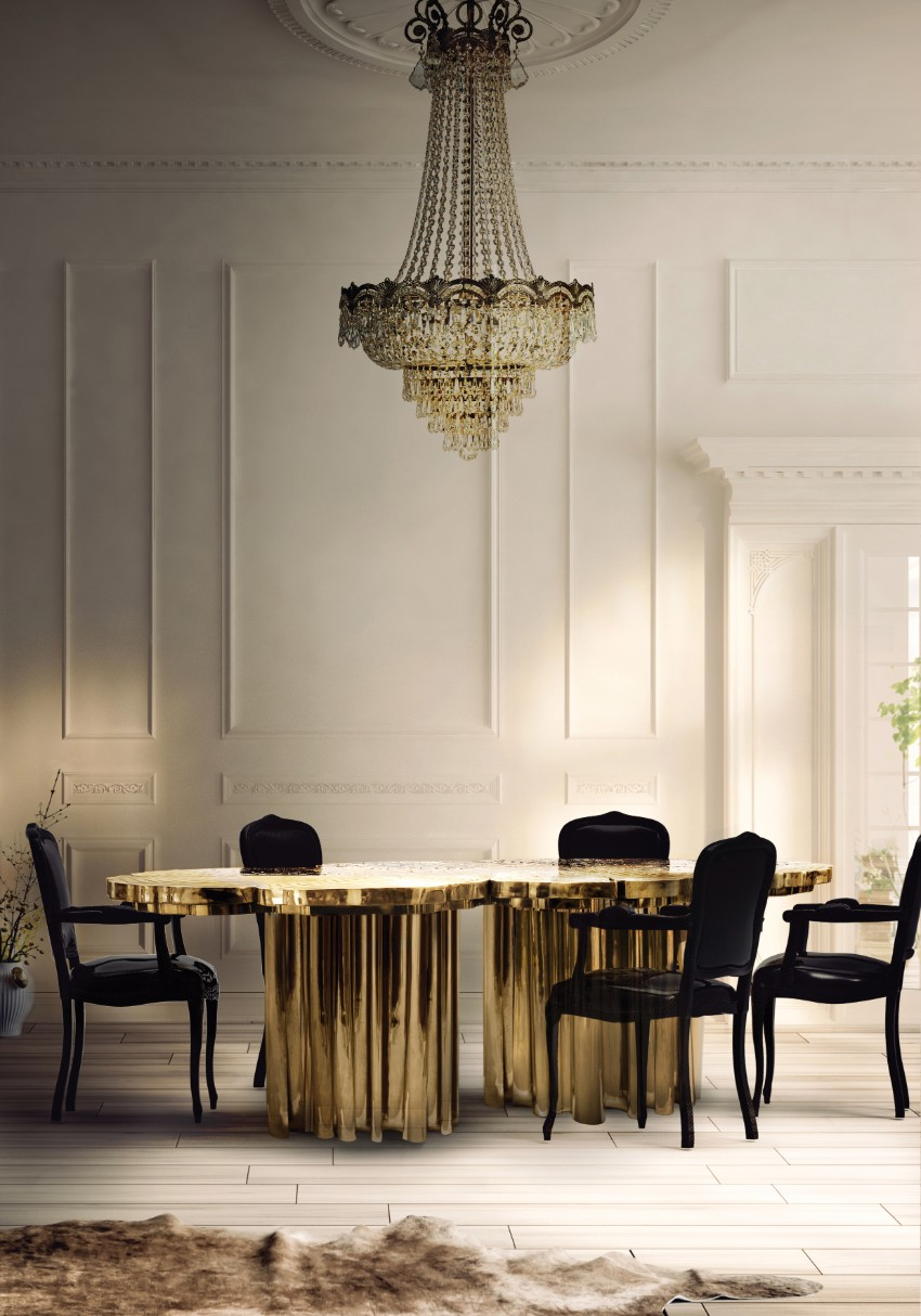 Most Wanted Modern Dining Tables by Top Luxury Brands