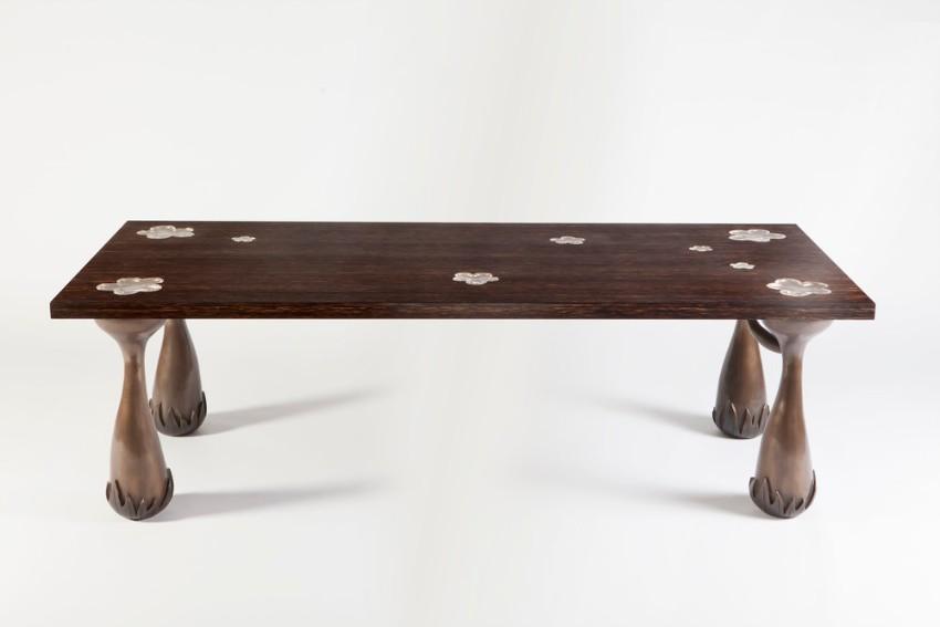 Unique Dining Tables by Mattia Bonetti