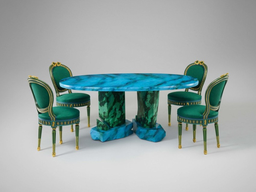 Unique Dining Tables by Mattia Bonetti