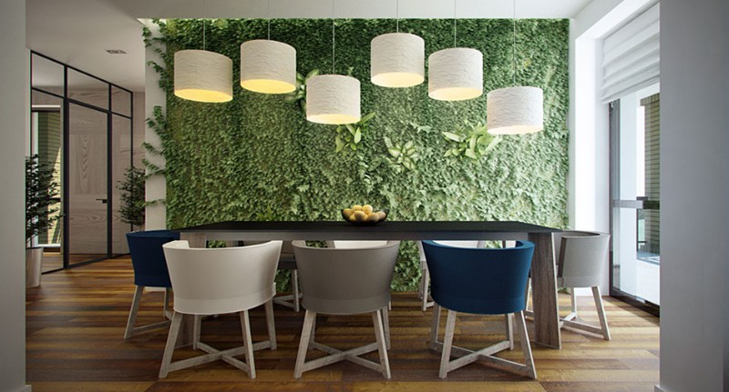 dining room walls dining room walls Original Ideas for Your Dining Room Walls green