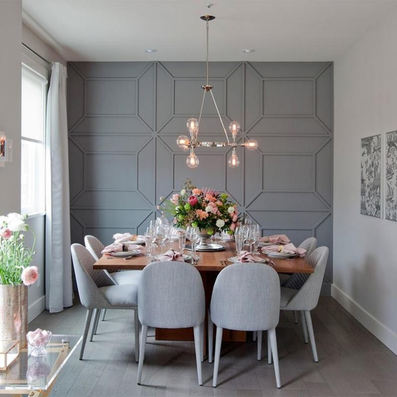 textured walls dining room walls Original Ideas for Your Dining Room Walls texture