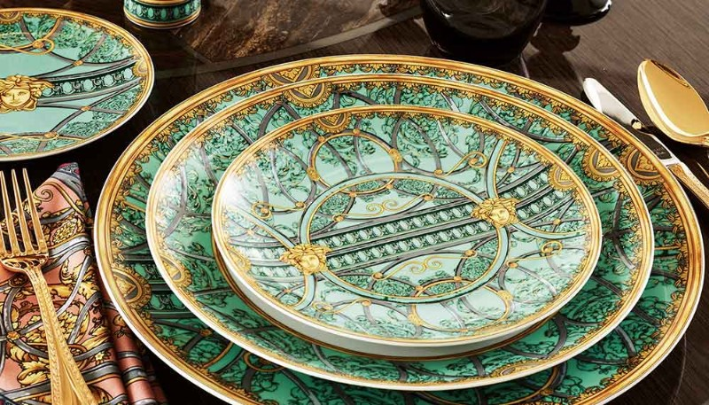 tableware Best Tableware for Your Dining Room Table versace