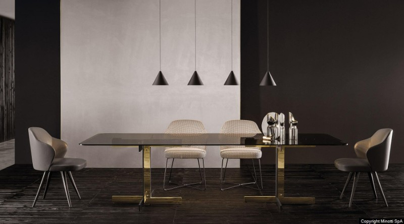 gold dining tables gold dining tables Gold Dining Tables With a Unique Design by Luxury Brands z catlin tavolo 01 gallery