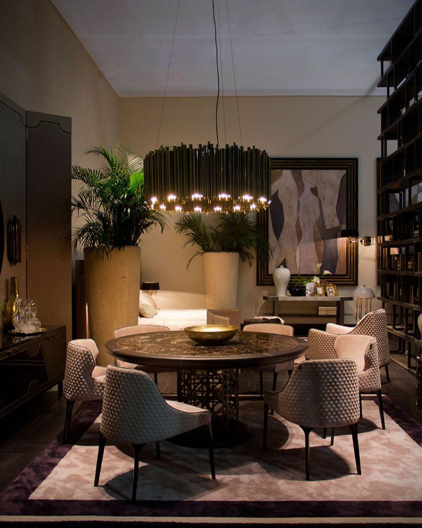 Luxury Dining Room Lighting Ideas