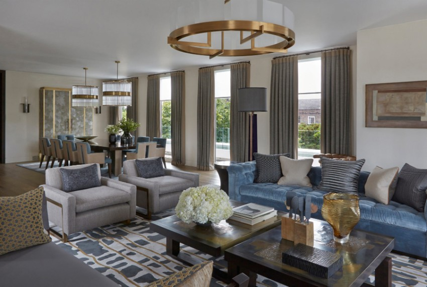 Luxury Dining Rooms by Helen Green