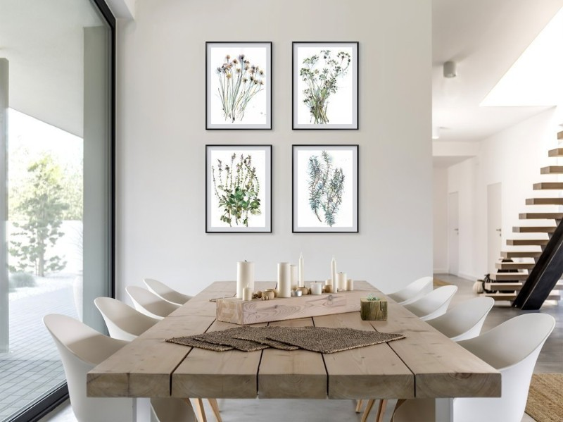 dining room Best Ideas for Your Dining Room Walls art3
