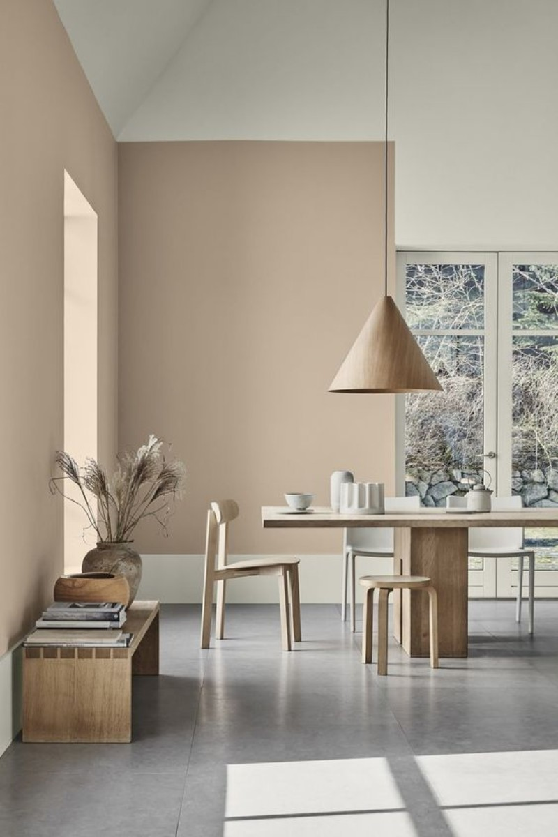 dining room Best Ideas for Your Dining Room Walls beige