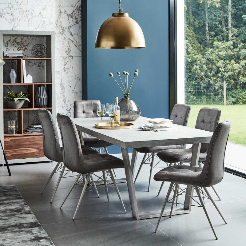 dining tables Best Materials for Contemporary Dining Tables concrete