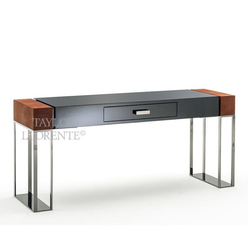 Luxury Console Tables With Drawers by Taylor Llorente console tables with drawers Luxury Console Tables With Drawers by Taylor Llorente console tables black lacquered 02
