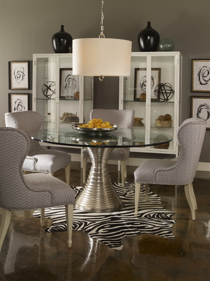 dining tables Best Materials for Contemporary Dining Tables glass