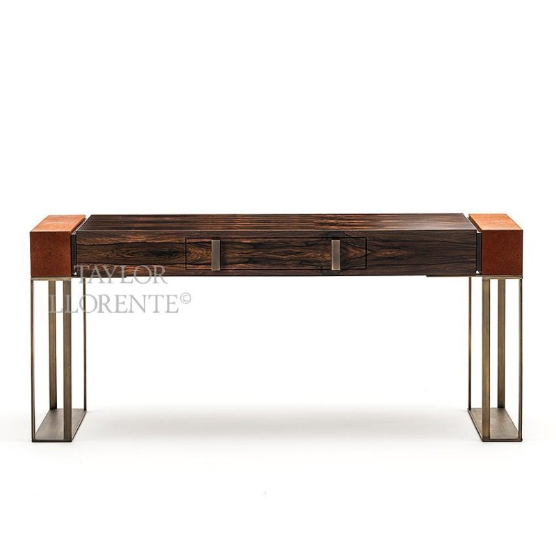 Luxury Console Tables With Drawers by Taylor Llorente console tables with drawers Luxury Console Tables With Drawers by Taylor Llorente macassar ebony console table designer 005m