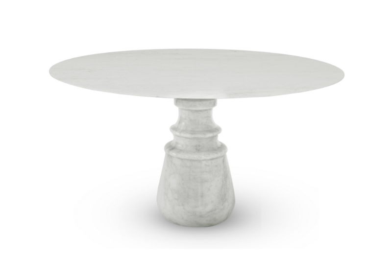 dining tables Best Materials for Contemporary Dining Tables pietra round 01 HR