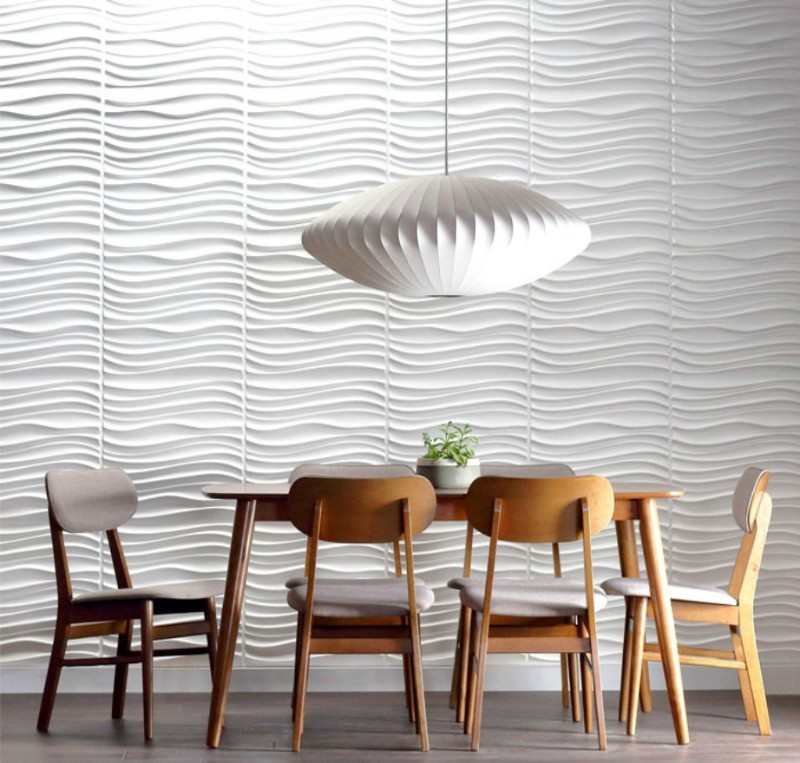 dining room Best Ideas for Your Dining Room Walls texture