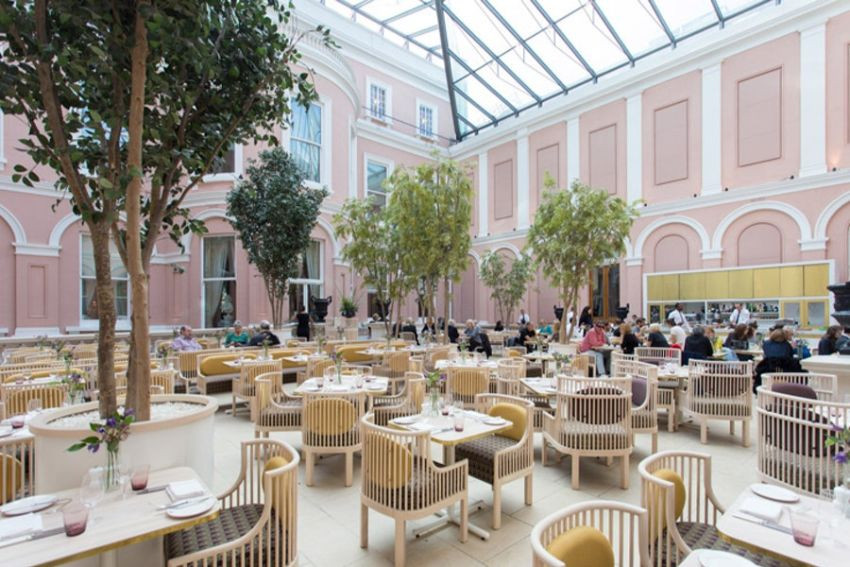 Unique Restaurants Inside Art Galleries
