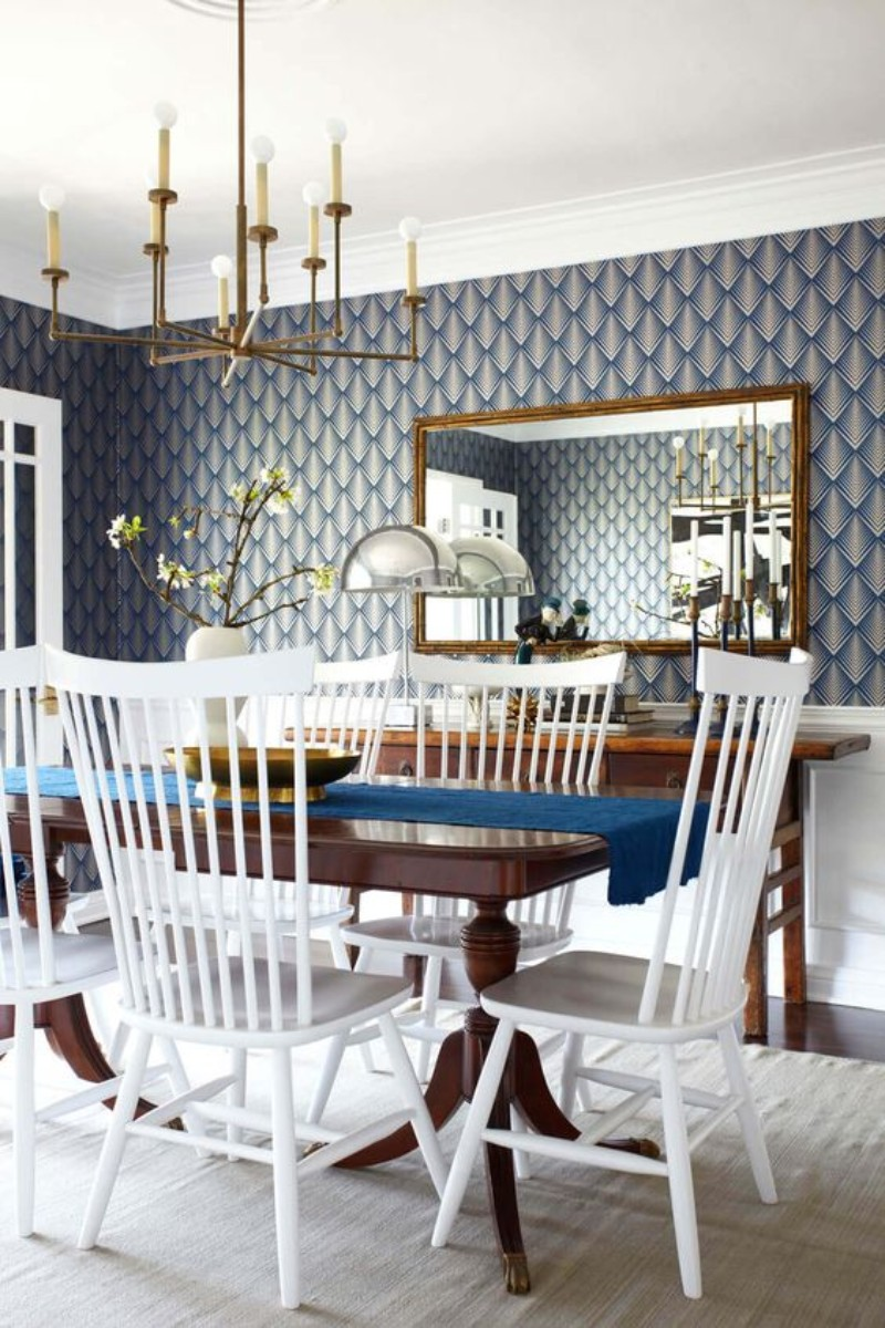 dining room Best Ideas for Your Dining Room Walls wallpaper2