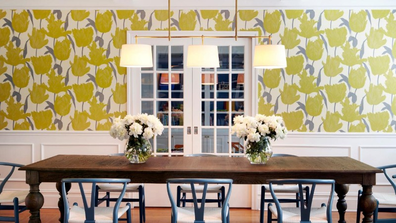 dining room Best Ideas for Your Dining Room Walls wallpaper4