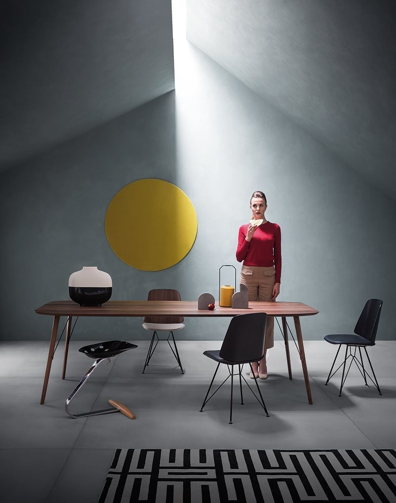 dining tables Best Materials for Contemporary Dining Tables zanotta santiago