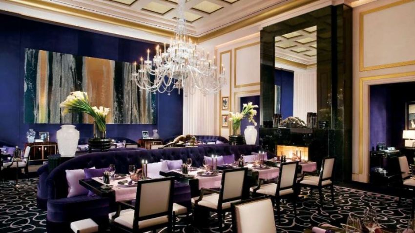 The Best High-end Restaurants In Las Vegas high-end restaurants The Best High-end Restaurants In Las Vegas mgm grand restaurant joel robuchon interior dining room  2x