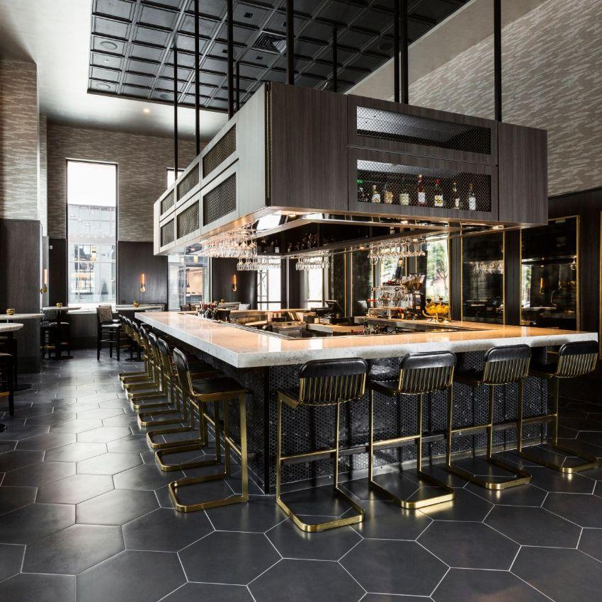 Osso & Kristalla and Potente: Luxury Restaurants by Gensler