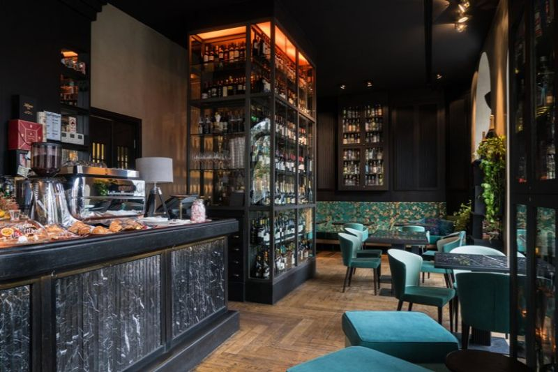 Living Liqueurs & Delights Contemporary Restaurant – Restyling by SGS Architetti Associati
