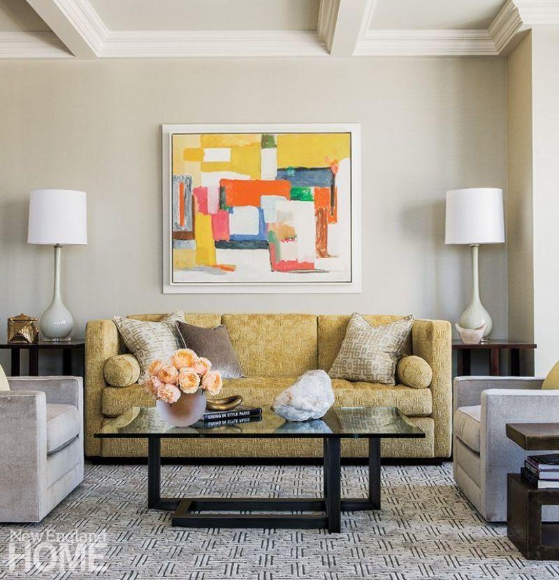 Downtown Boston Apartment: Modern Design by Elms Interior Design
