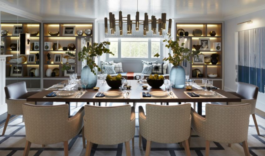 Luxury Dining Room Ideas By Top Interior Designers From England Modern Dining Tables