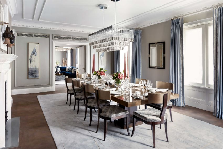 Dining Room Ideas by Top Interior Designers from England