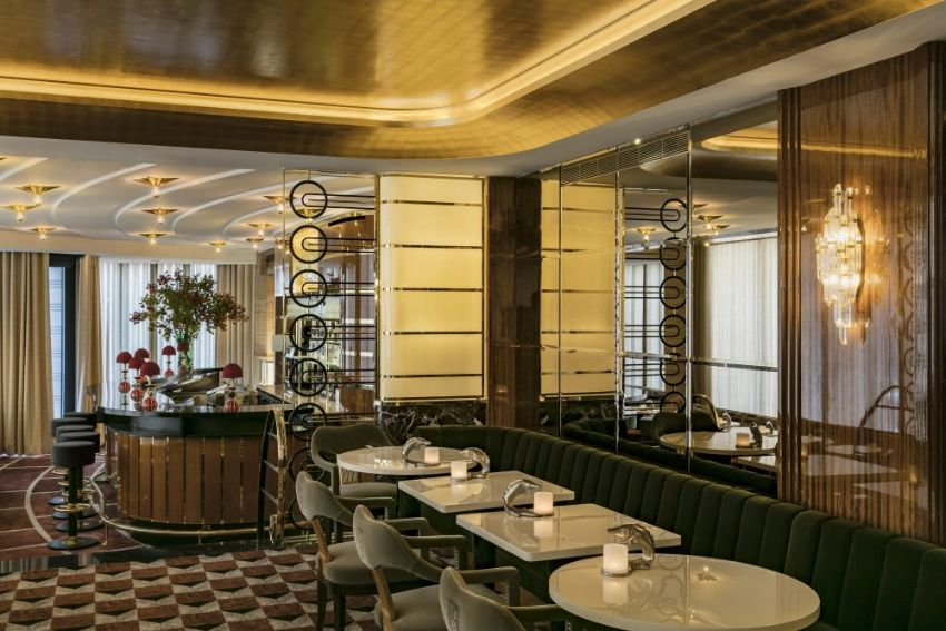 La Maison Du Caviar: Luxury Restaurant Designed by OITOEMPONTO