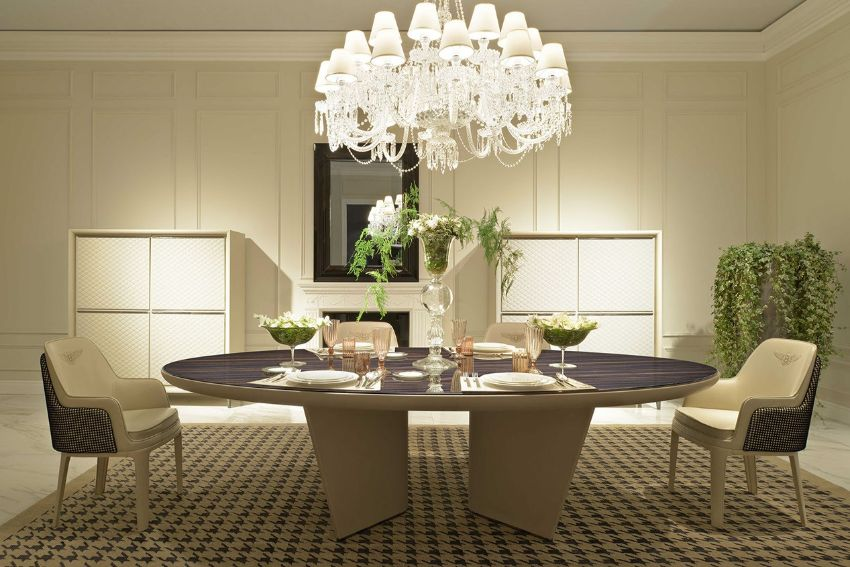 Contemporary Dining Tables From Top Luxury Furniture Brands