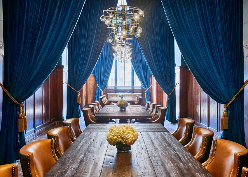 Simeone Deary Design Group: Luxury Design At Detroit Foundation Hotel