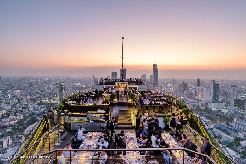 TOP 5: Best Rooftop Restaurants and Bars