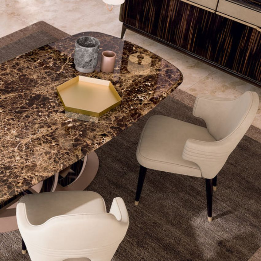 5 Exclusive Marble Dining Tables Designed by Italian Designers