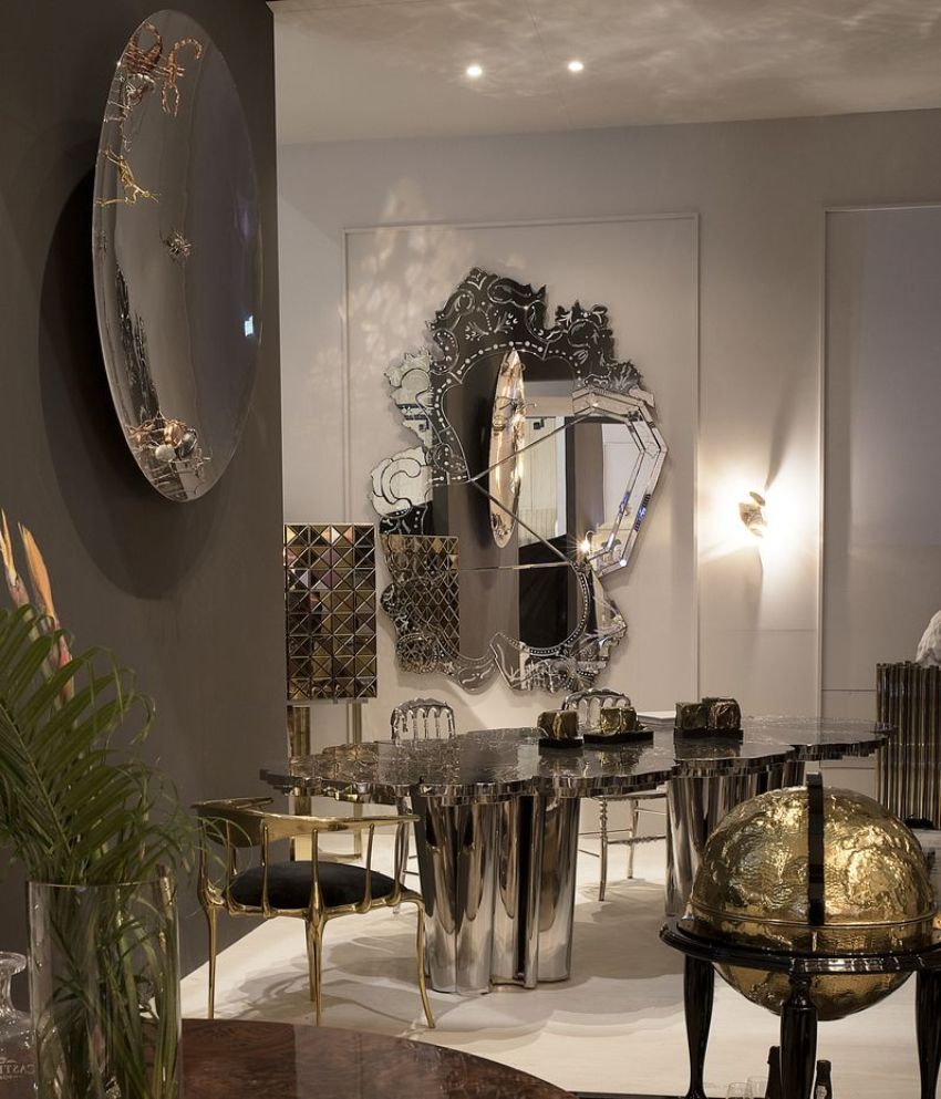Discover These Luxury Mirror Collection For Your Modern Dining Room