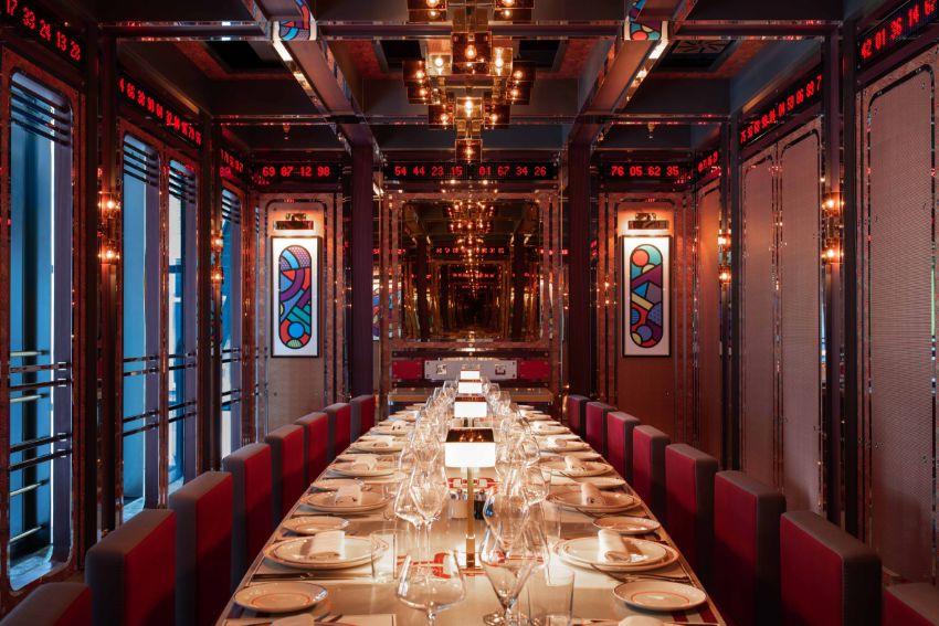 London's Bob Bob Cité – A Maximalist French Luxury Restaurant