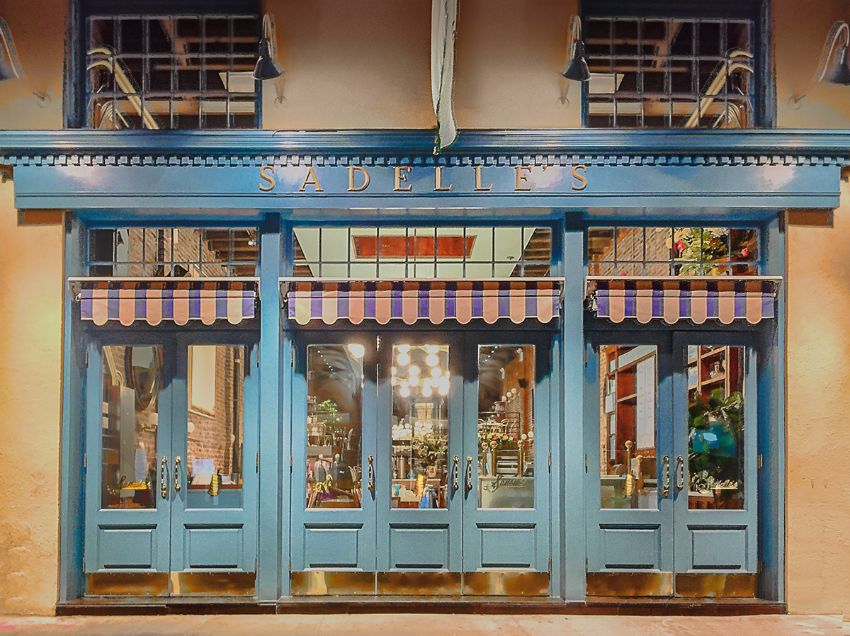 Return to Belle Époque with Sadelle's Modern Restaurant by Ken Fulk