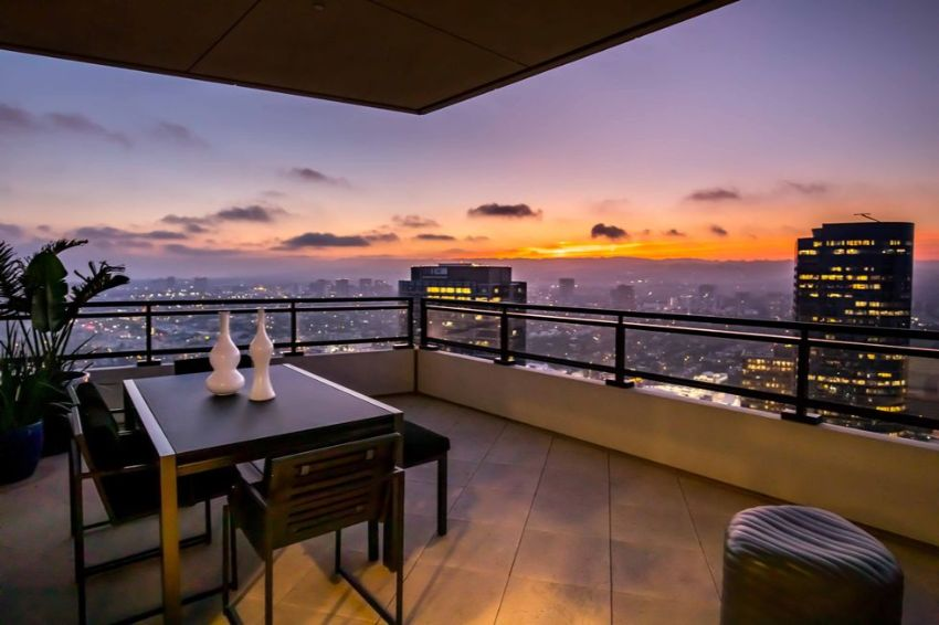 Welcome to Matthew Perry's Luxury Penthouse (And It Is For Sale!)
