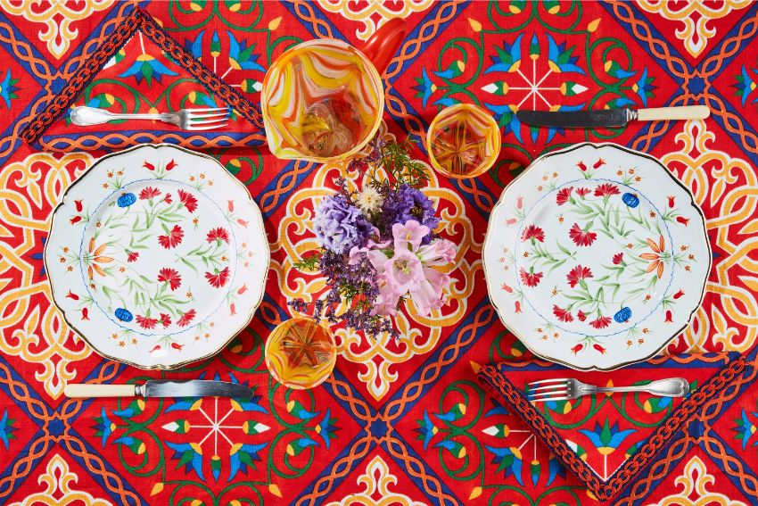 Carolina Herrera X Cabana - The New Luxury Tabletop Collection